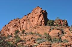 Broken Arrow Trail. Breathtaking scenery along the Broken Arrow trail in Sedona, Arizona royalty free stock image