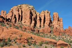 Broken Arrow Trail. Breathtaking scenery along the Broken Arrow trail in Sedona, Arizona stock image