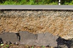 Broken asphalt Royalty Free Stock Images
