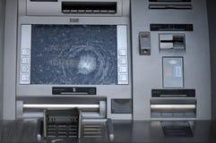 Broken ATM . royalty free stock photos