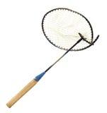 Broken badminton racket Royalty Free Stock Image