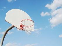 Broken basketball hoop Royalty Free Stock Photography