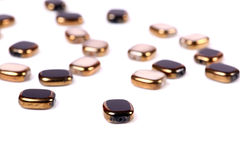 Broken beads Royalty Free Stock Photos