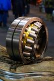 Broken bearing on plant. Broken bearing on industrial plant Stock Images