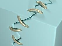 broken begreppsmässig kubbild som reparerar ting Royaltyfri Fotografi