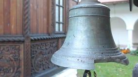 Broken bell stock video footage
