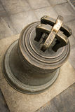 Broken bell from 1646, in Warsaw, Poland.  royalty free stock image