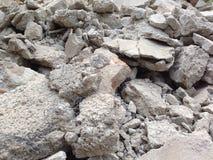 broken betong Royaltyfri Bild