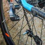 Broken Bicycle Rear Derailleur Royalty Free Stock Photo