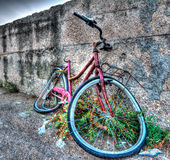 Broken bike Royalty Free Stock Photography