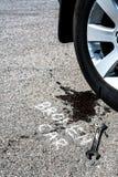 broken bil Arkivbilder