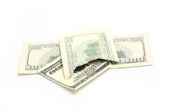 Broken bill Royalty Free Stock Photo