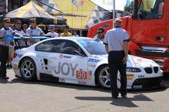 Broken BMW car Stock Photo