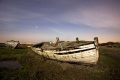 Broken boat Stock Image