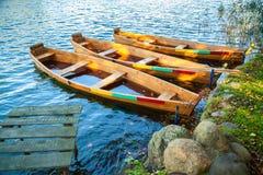 Broken boats Stock Images