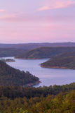 Broken Bow Lake. A beautiful sunset over Broken Bow Lake, Oklahoma Stock Image