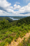 Broken Bow Lake in Oklahoma. View of Broken Bow Lake in Oklahoma, USA Stock Photography