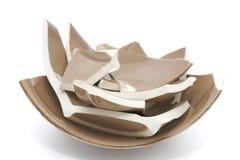Broken bowl Royalty Free Stock Images