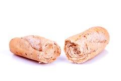 Broken bread. Stock Images