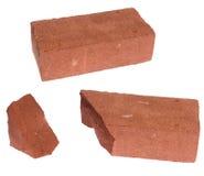 (Broken) brick Stock Images