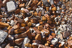 Broken Brick Background. Broken Brick Abstract for Wallpaper or Background stock photo