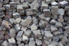 Broken brick Stock Image