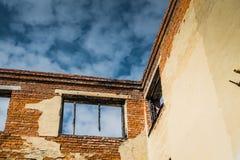 Broken Brick House Stock Images
