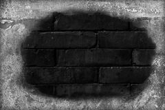 Broken brick wall Stock Photography