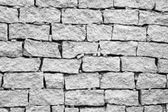 Broken brick wall texture background Stock Photos