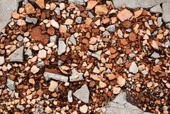 Broken bricks Royalty Free Stock Image