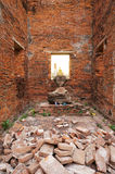 Broken Bricks at Old Building Stock Image
