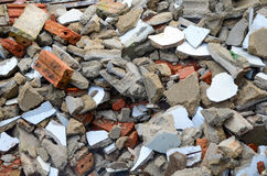 Broken bricks Royalty Free Stock Image