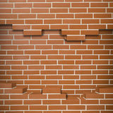 Broken brickwall background Royalty Free Stock Images