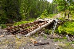 Broken bridge Royalty Free Stock Images