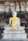Broken buddha statue, taken outdooor in afternoon Stock Photo
