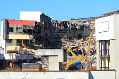 Broken building ruins Stock Photography