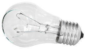 A broken light bulb. Royalty Free Stock Photography