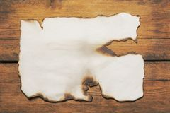 The broken and burnt paper stock images