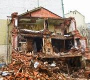 Broken byggnad fördärvar Royaltyfri Fotografi