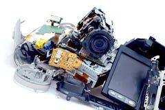 Broken camcorder fotografering för bildbyråer