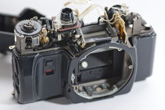 Broken camera Royalty Free Stock Photo