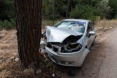 Broken car stock photography