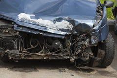 Broken car. close-up Stock Image