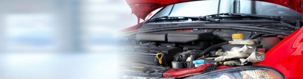 Broken car engine. Royalty Free Stock Image