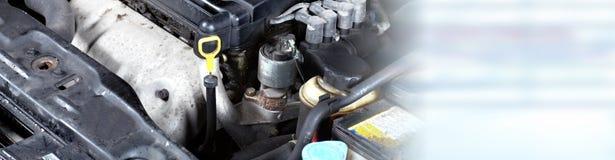 Broken car engine. Stock Image