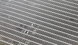 Broken car evaporator texture. A broken car evaporator texture Royalty Free Stock Image