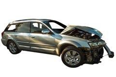 Broken car incident Stock Photography