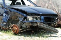 Broken car for scrap Stock Image