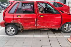 Broken car Royalty Free Stock Photo