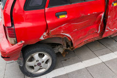 Broken car Stock Images